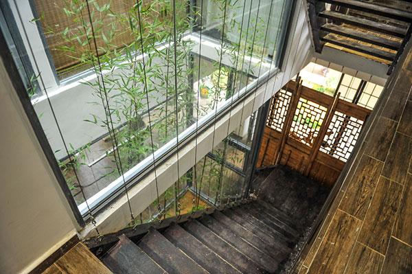 室内阳台禅意景观