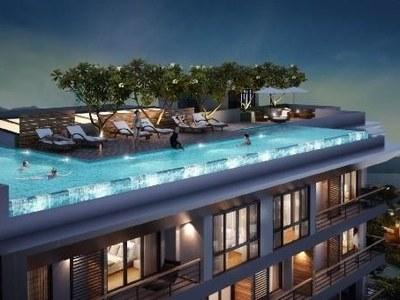 普吉岛芭东海景公寓,设施齐全