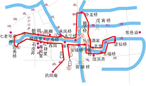 西塘美食地图