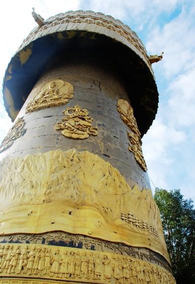 中式圆筒形建筑