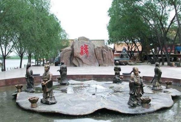 白洋淀旅游景点图片:鸳鸯岛