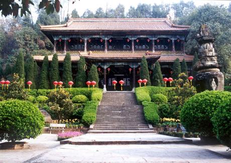 阆中古城景点介绍