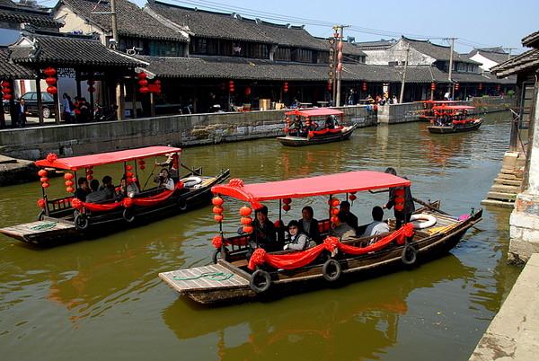 上海枫泾古镇景点介绍 上海枫泾古镇门票价格高清图片