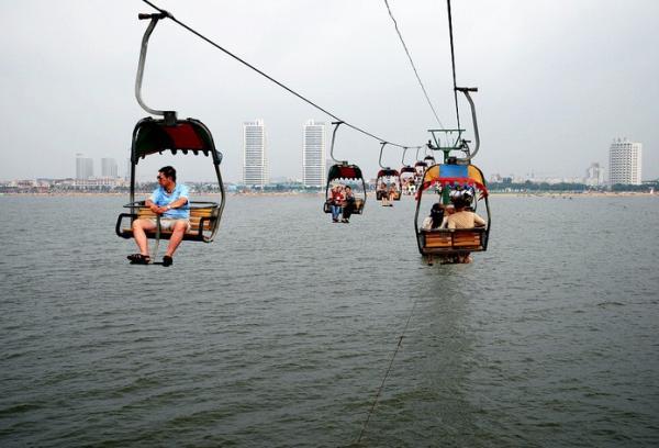 南戴河好玩的地方:仙螺岛