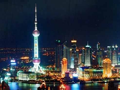 上海东方明珠电视塔旅游 上海东方明珠图片图片