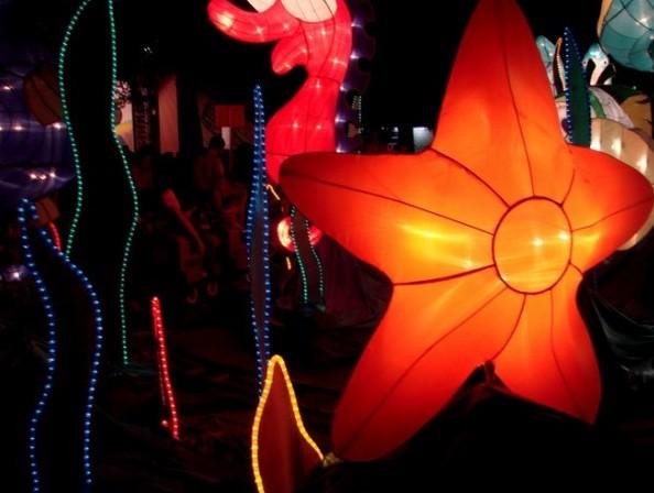 昆山中秋灯会全攻略:灯会布局   昆山中秋灯会主要有七个灯高清图片