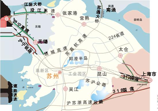 苏州地图-上海到苏州旅游 2013上海到苏州旅游攻略图片
