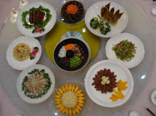 全素宴-九华山好吃的素斋菜
