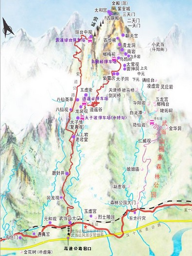 国家5a级旅游风景区和全国八大避暑胜地之一,武当山吸引着越来越多的