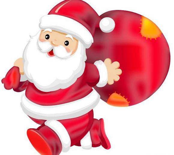 圣诞节的东西简笔画-圣诞老人的故事 圣诞老人图片