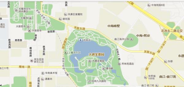 西安地图 西安旅游地图图片