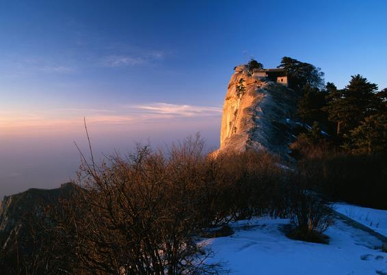 华山景点图片图片