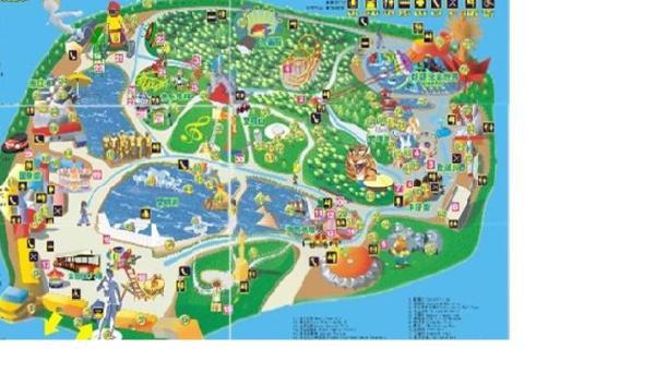 深圳世界之窗景点地图