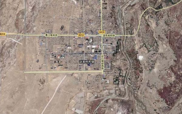 额济纳旗地图 额济纳旗旅游地图 额济纳旗旅游景点地图