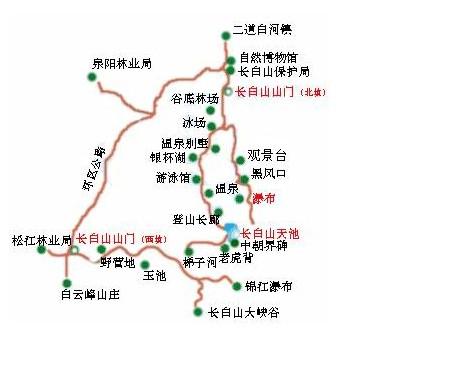 长白山风景区在哪 长白山风景区地图 长白山图片-途家网旅游指南