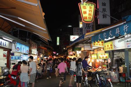 台北夜市地址 台北夜市分布图 台北夜市营业时间图片