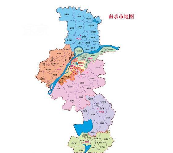 南京地图 南京旅游地图图片