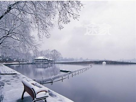 杭州西湖美景之 断桥残雪