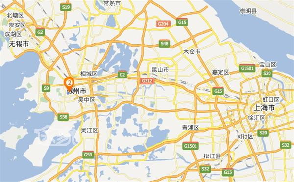 苏州乐园地址 苏州乐园地图