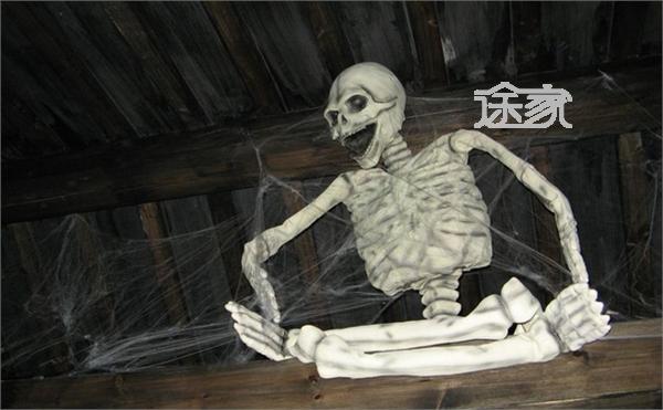 杭州旅游指南 宋城旅游 2014五一宋城旅游攻略   聊斋惊魂鬼屋的画面