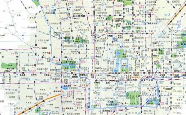 北京旅游景点地图 北京旅游景点排名