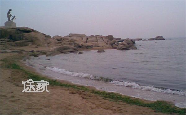 北戴河老虎石浴场