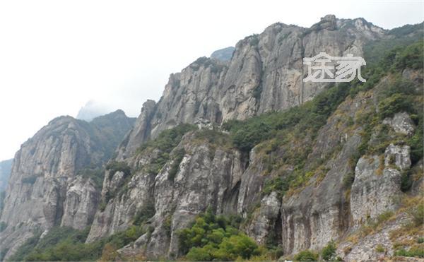 温州雁荡山地图