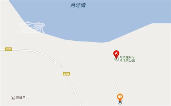 九丈崖景区地图