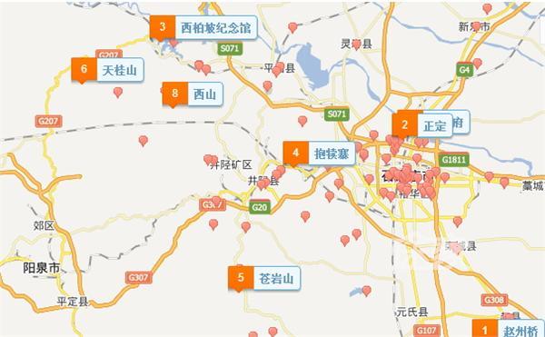 2014石家庄好玩的地方有哪些 石家庄景点地图-手机途家网旅游指南