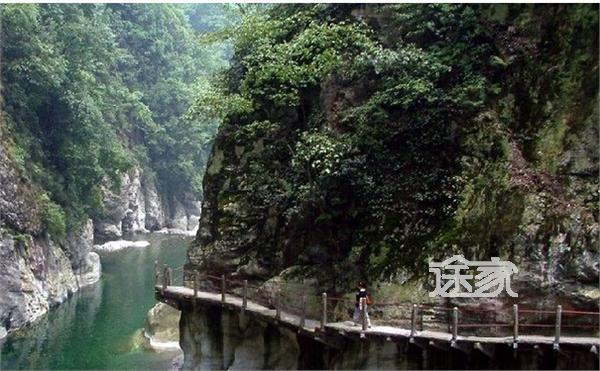 景点介绍-龙门森林公园河道