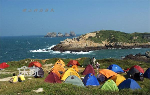 上海周边避暑露营地推荐 上海周边最美的海岛之渔山岛