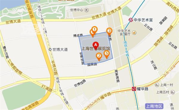 2014上海宠物展地图