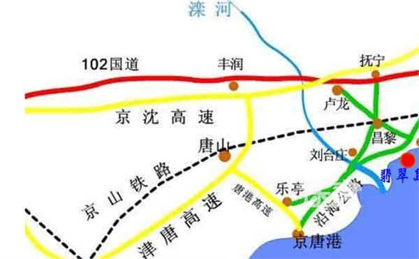 翡翠岛地图图片