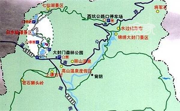 旅游指南 白水寨地址 白水寨地图 白水寨导游图   白水寨是省级风景