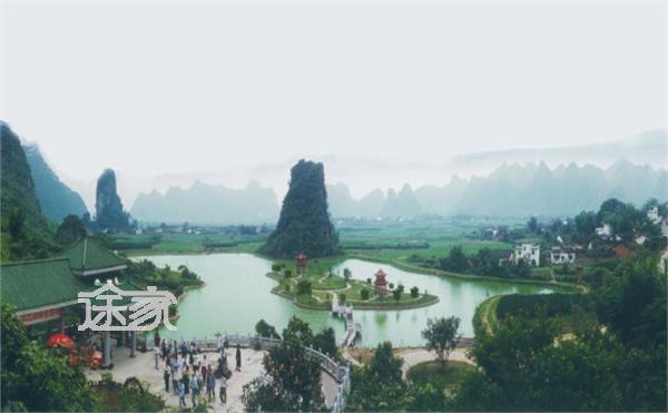 桂林旅游指南 银子岩地址 银子岩地图   银子岩在桂林市荔浦县马岭镇