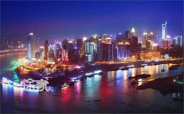 重庆���izd�b��b�_重庆长江三峡夜景