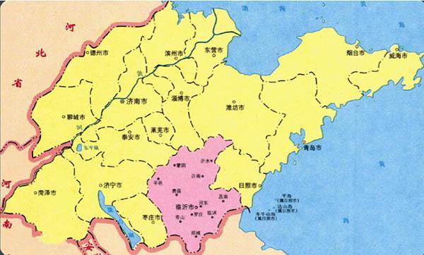 蒙山龟蒙景区均位于临沂市