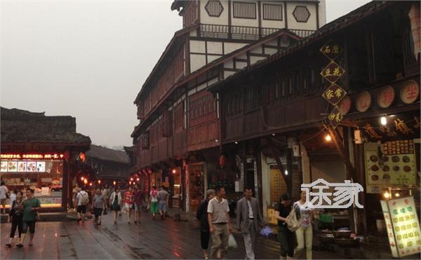 街子古镇简介   街子古镇位于崇州市,毗邻青城外图片