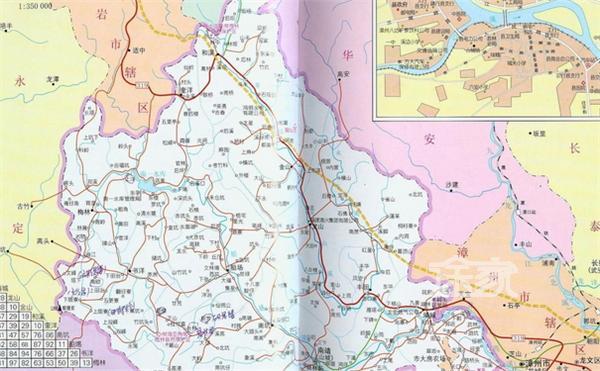 福建漳州有哪些旅游景点 福建漳州旅游地图