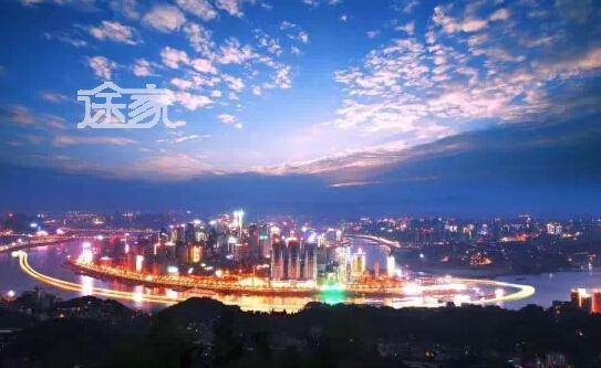 重庆山城夜景