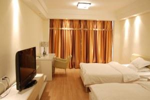 广州天河区广州穗程威尼国际公寓豪华双床房(共20套)