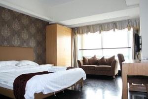 广州越秀区广州私享家锦源国际公寓豪华大床房(共25套)