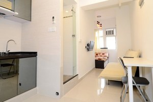 香港九龙城区香港佐敦地铁站附近舒适公寓