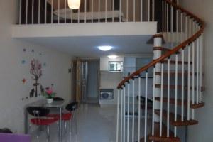 广州天河区广州铂林家世界公寓复式一房一厅(共22套)