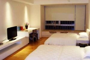 广州天河区广州安麒瑞娜威尔斯公寓豪华双人房(共10套)