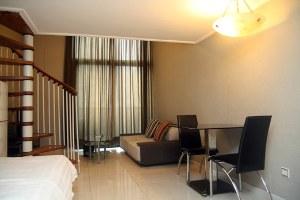 广州天河区广州品晶铂林国际公寓复式双床房(共25套)