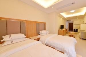 广州越秀区御江苑国际公寓商务双床房(共8套)