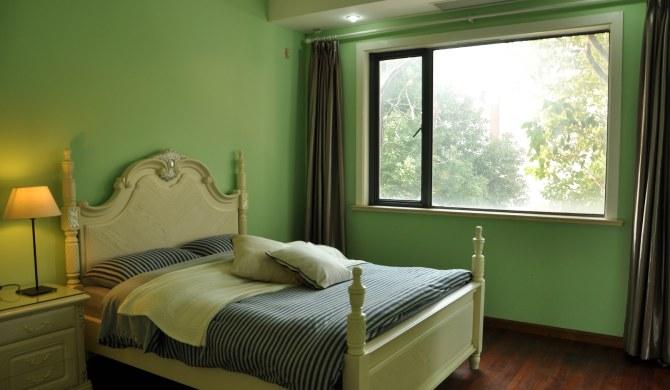 上海闵行区上海众乐派欧式田园风轰趴馆-卧室