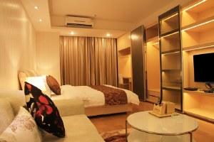 广州海珠区广州嘻哈酒店公寓高级大床房(共10套)