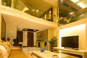 广州越秀区广州月满圆酒店公寓行政复式大床房(共5套)
